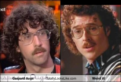 Gaspard Auge Totally Looks Like Weird Al