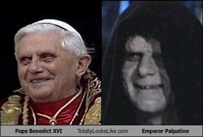 Pope Benedict XVI Totally Looks Like Emperor Palpatine