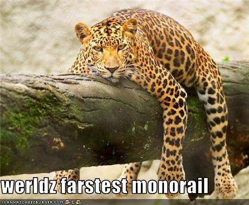 werldz farstest monorail