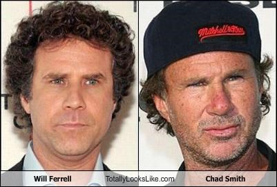 Will Ferrell Totally Looks Like Chad Smith
