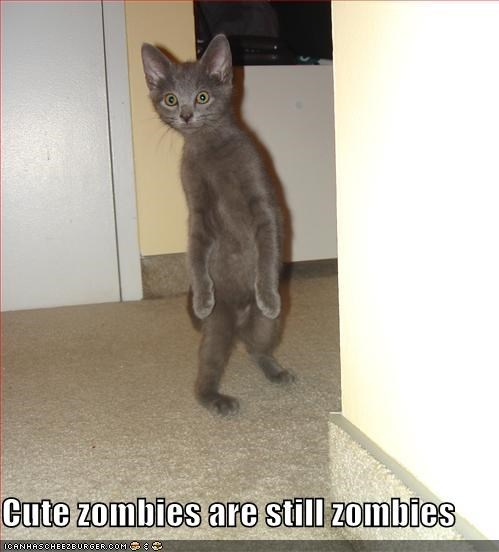 Cute zombies are still zombies