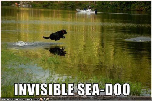 INVISIBLE SEA-DOO