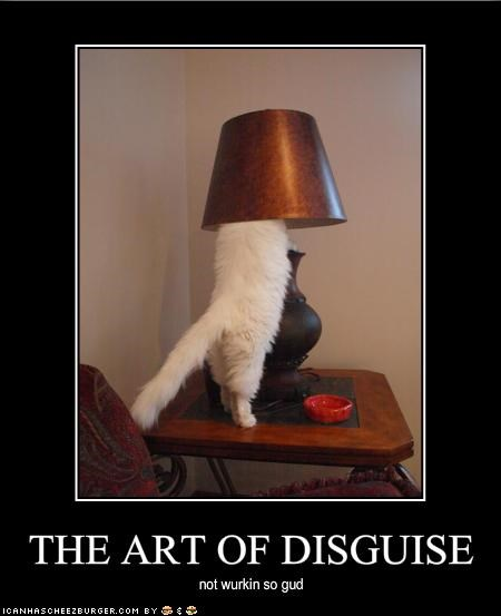 THE ART OF DISGUISE