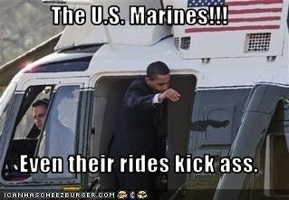 The U.S. Marines!!!  Even their rides kick ass.