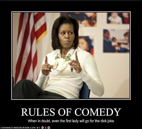 democrats,dick jokes,First Lady,Michelle Obama