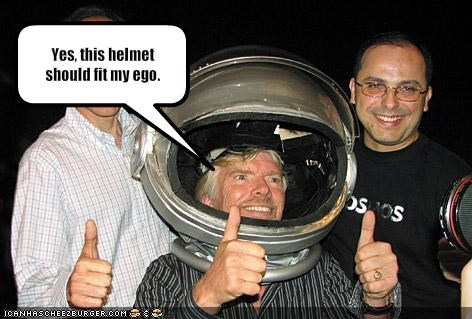 astronaut,ego,Richard Branson,space