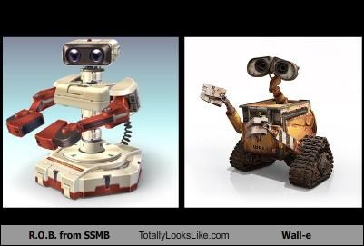 R.O.B. from SSMB Totally Looks Like Wall-e