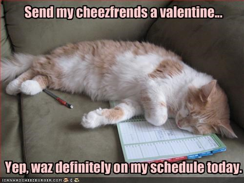 Send my cheezfrends a valentine...
