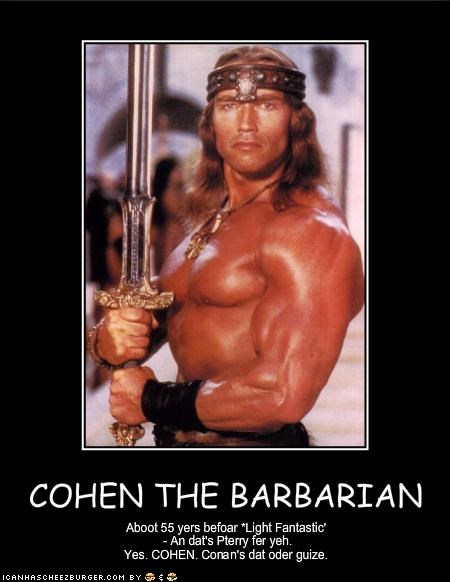 COHEN THE BARBARIAN