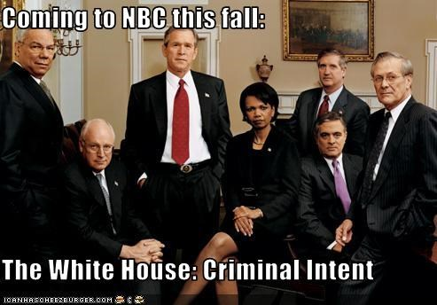 Coming to NBC this fall:  The White House: Criminal Intent