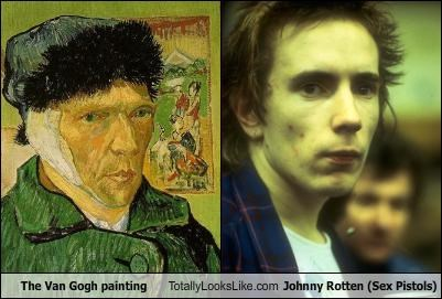 The Van Gogh painting Totally Looks Like Johnny Rotten (Sex Pistols)