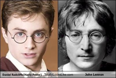 Daniel Radcliffe(Harry Potter) Totally Looks Like John Lennon