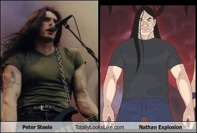 adult swim,cartoons,Metalocalypse,Peter Steele
