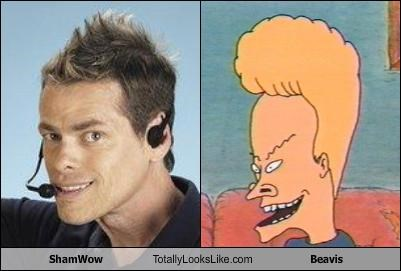 ShamWow Totally Looks Like Beavis