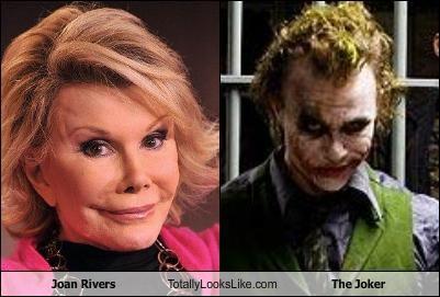 Joan Rivers Totally Looks Like The Joker