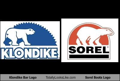 Klondike Bar Logo Totally Looks Like Sorel Boots Logo