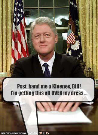 bill clinton,democrats,dick jokes,gross,Oval Office,president,White house