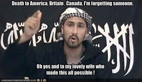 Death to America, Britain , Canada, I'm forgetting someone.