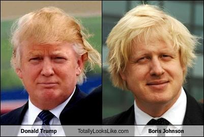 Donald Trump Totally Looks Like Boris Johnson