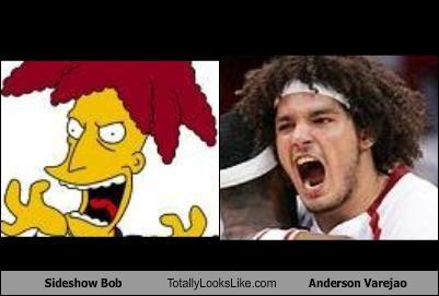 Sideshow Bob Totally Looks Like Anderson Varejao