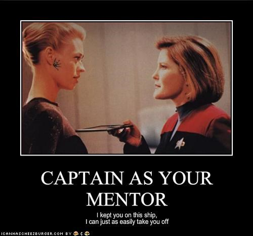 CAPTAIN AS YOUR MENTOR