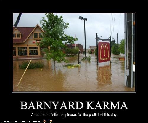 BARNYARD KARMA