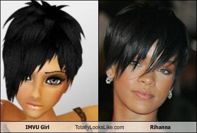 IMVU Girl Totally Looks Like Rihanna