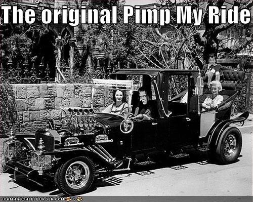 Automobiles,cars,pimp my ride,The Munsters,TV