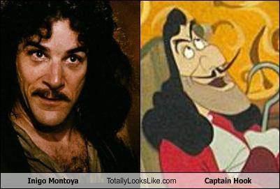Inigo Montoya Totally Looks Like Captain Hook