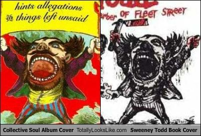 Collective Soul Album Cover Totally Looks Like Sweeney Todd Book Cover