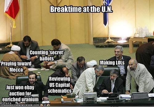 Breaktime at the U.N.