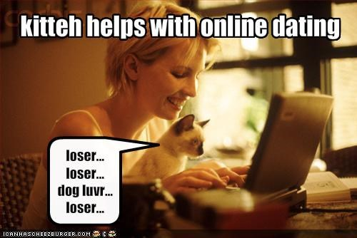 kitteh helps with online dating