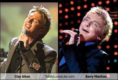 Clay Aiken Totally Looks Like Barry Manilow