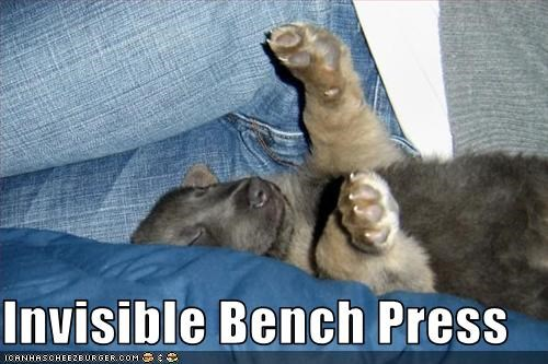 Invisible Bench Press