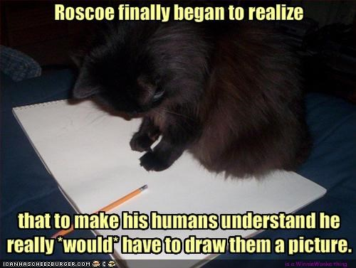 Roscoe finally began to realize
