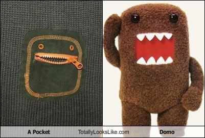 A Pocket Totally Looks Like Domo