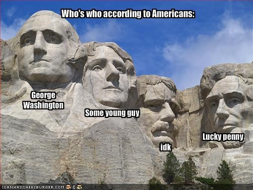 Who's who according to Americans: