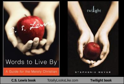 C.S. Lewis book Totally Looks Like Twilight book