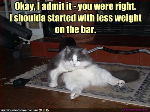 Okay, I admit it - you were right.
