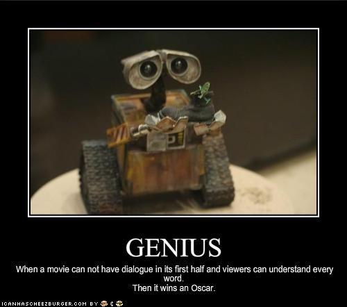 animation,disney,geniuses,movies,oscars,pixar,wall.e