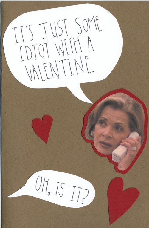 cards,arrested development,gene parmesan,funny,Valentines day,g rated,dating