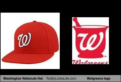 Washington Nationals Hat Totally Looks Like Walgreens logo