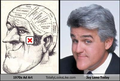 1970s Ad Art Totally Looks Like Jay Leno Today
