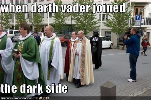 when darth vader joined  the dark side
