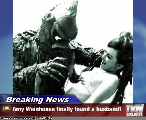 Breaking News - Amy Weinhouse finally found a husband!