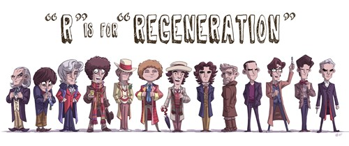 An Homage To The Doctor's 13 Faces