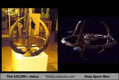 art,sci fi,Star Trek,statue,TV