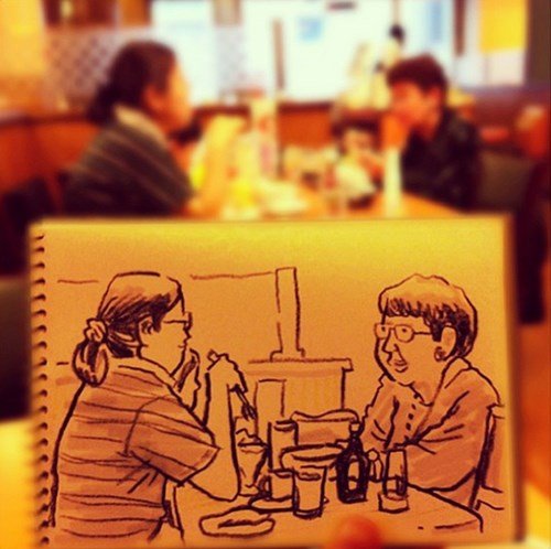 Artsy Fart of the Day: Sketching Out Life in Tokyo