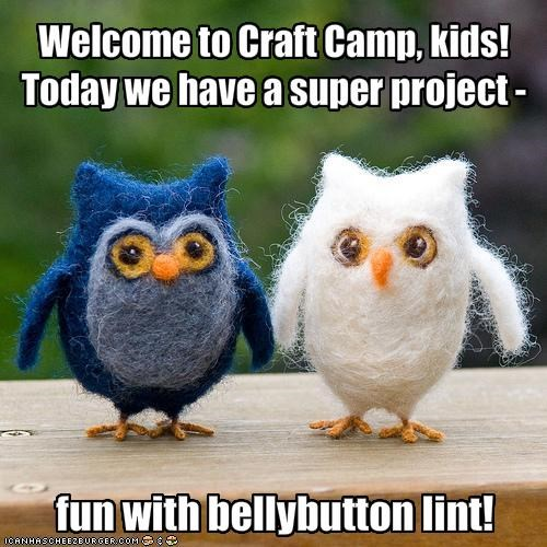 Welcome to Craft Camp, kids!