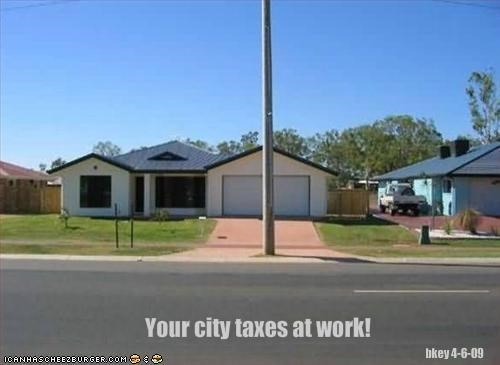 Your city taxes at work!